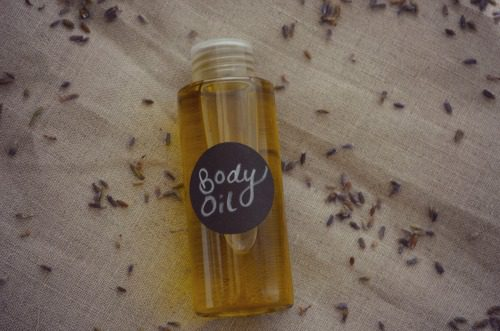DIY  mothers day body oil