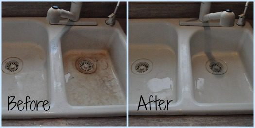 How to naturally clean a white sink without chemicals at lifeyourway.net