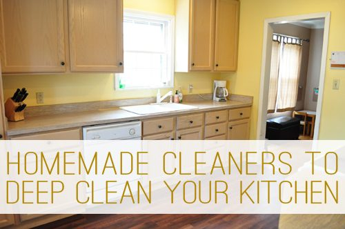 Superb How To Deep Clean Your Kitchen The Green Way At Lifeyourway.net