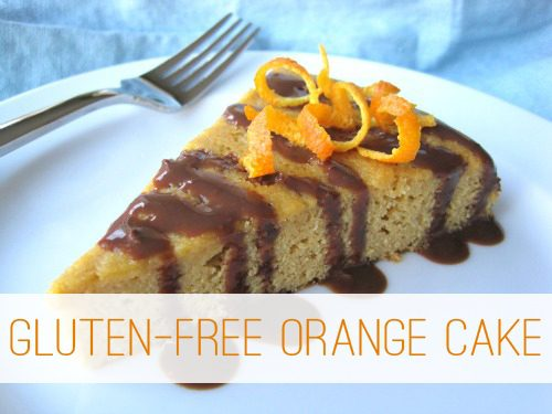 Super-Moist (and oh-so-easy) Gluten-Free Orange Cake at lifeyourway.net