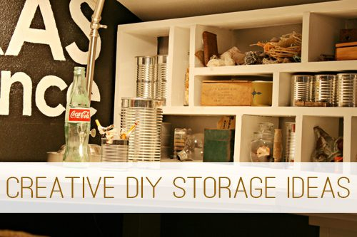 Creative DIY Storage Ideas for Your Home at lifeyourway.net
