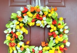 9 DIY Spring Wreath Ideas