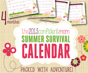 2013 Summer Survival Calendar