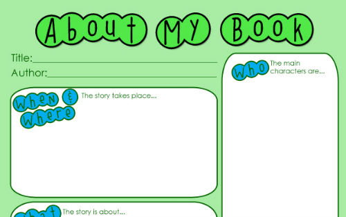 writing book reports for kids
