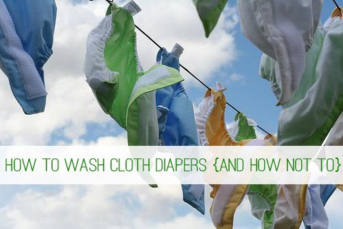 How to Wash Cloth Diapers {And How Not To} at lifeyourway.net