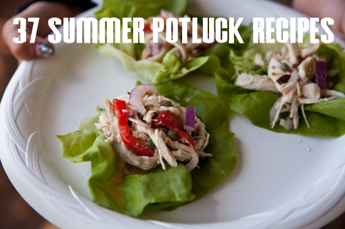 37 Summer Potluck Recipes at lifeyourway.net