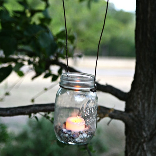 Inexpensive Ways to Add Outdoor Lighting