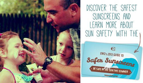 EWG's 2013 Guide to Safer Sunscreens