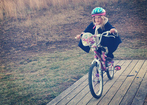 Why We Don't Teach Our Girls to Ride a Bike