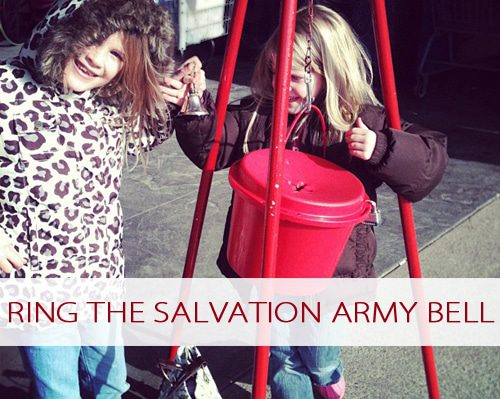 Ring the Salvation Army Bell {101 Days of Christmas at lifeyourway.net}