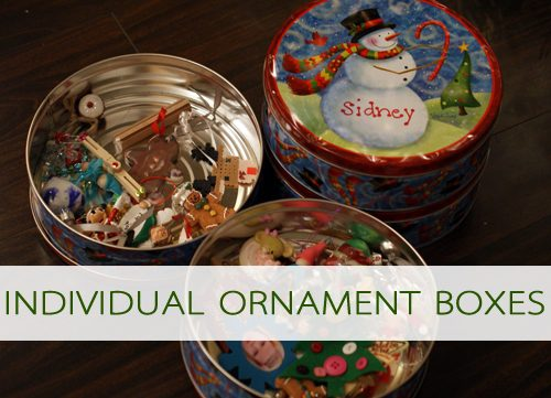 Individual Ornament Boxes {101 Days of Christmas at lifeyourway.net}