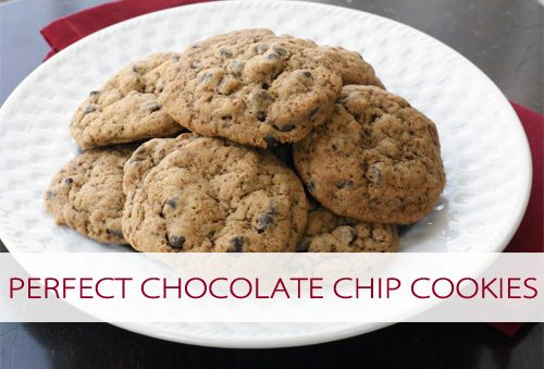 101 Days of Christmas: Perfect Chocolate Chip Cookies