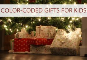 Read more about the article 101 Days of Christmas: Color-Coded Gifts for Kids