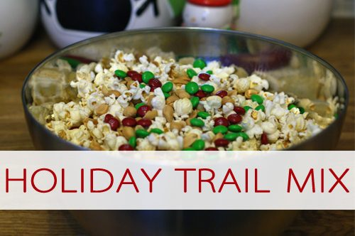 101 Days of Christmas: Festive Holiday Trail Mix