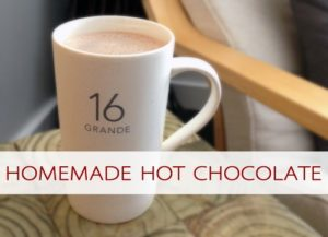 101 Days of Christmas: Homemade Hot Chocolate
