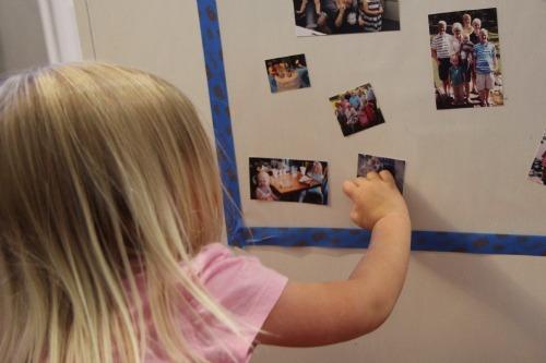 memory wall photos