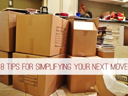 6 Tips for Simplifying Your Next Move at lifeyourway.net