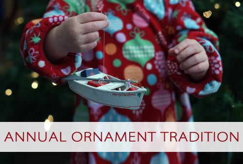 Annual Ornament Tradition {101 Days of Christmas at lifeyourway.net}