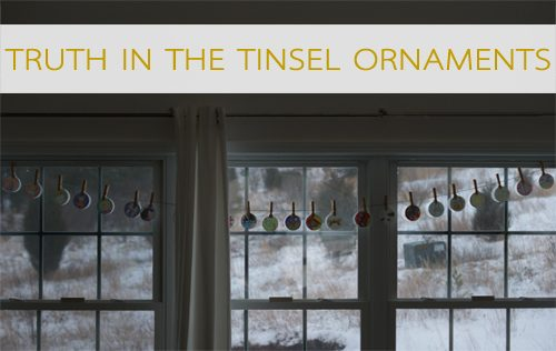 Truth in the Tinsel Ornaments {101 Days of Christmas at lifeyourway.net}