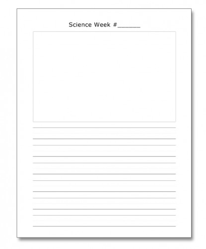 Classical Conversations Science Notebooking Printables