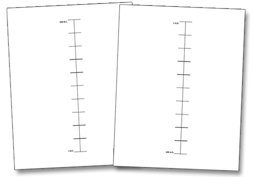 Classical Conversations Timeline Notebooking Printables