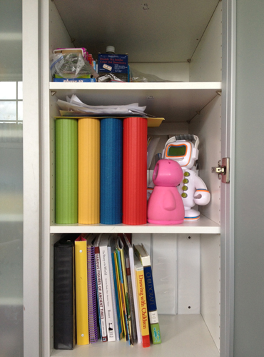 Organizing Our Homeschool Supplies