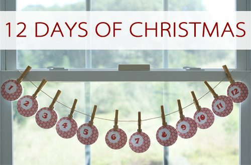 12 Days of Christmas Tradition {101 Days of  Christmas at lifeyourway.net}