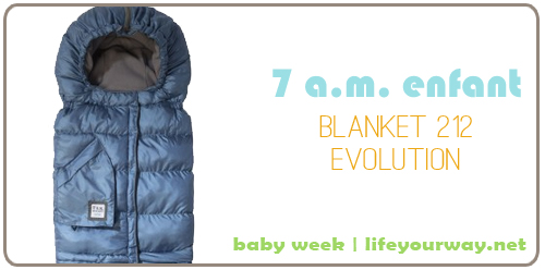 7 A.M. Enfant Blanket 212evolution {Baby Week at lifeyourway.net}