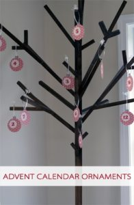 Read more about the article 101 Days of Christmas: Printable Advent Calendar Ornaments