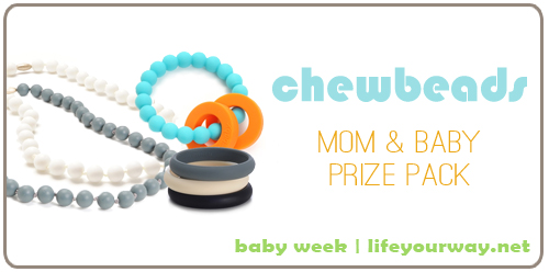 Chewbeads Prize Pack {Baby Week at lifeyourway.net}