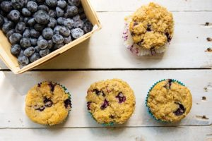 Read more about the article Blueberry Coconut Cream Muffins