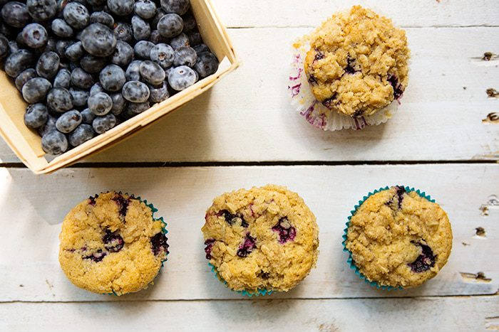 You are currently viewing Blueberry Coconut Cream Muffins