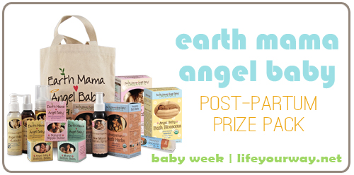 Earth Mama Angel Baby Prize Pack {Baby Week at lifeyourway.net}