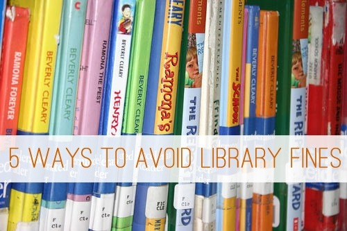5 Ways to Avoid Library Fines at lifeyourway.net