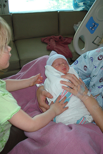Parker's Birth Story {On Breech Babies & C-Sections} at lifeyourway.net