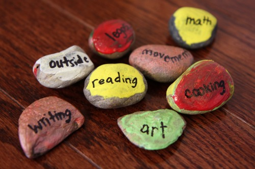 Back to School Ideas for Kids: Rock Schedules