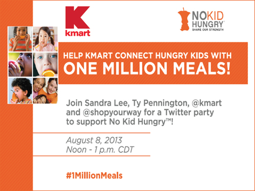#1MillionMeals Twitter Party to Help Fight Child Hunger