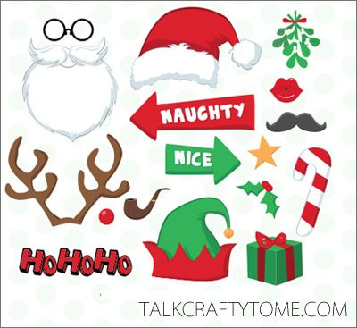 image regarding Printable Props titled 101 Times of Xmas: Printable Image Booth Props Roundup