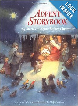 Advent Storybook: 24 Stories to Share Before Christmas {Christmas Book Roundup at lifeyourway.net}