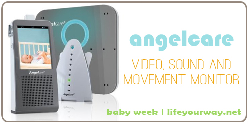 Baby Week Giveaway #4: Angelcare Digital Video, Movement and Sound Monitor {Baby Week at lifeyourway.net}