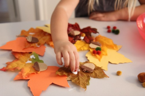autumn craft ideas kids crafts for make a kindness wreath your way 3396