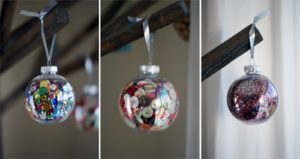 101 Days of Christmas: Easy Filled Ornaments