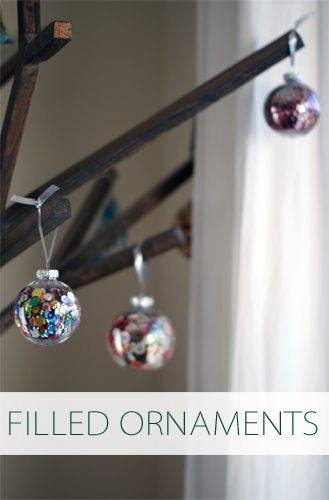 Easy Filled Ornaments {101 Days of Christmas at lifeyourway.net}