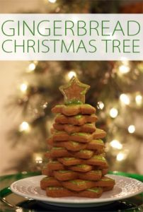 101 Days of Christmas: Gingerbread Star Christmas Tree
