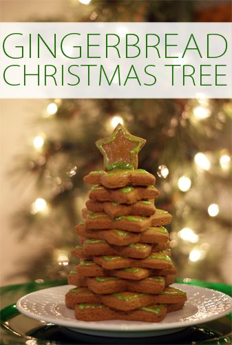 Gingerbread Star Christmas Tree {101 Days of Christmas at lifeyourway.net}