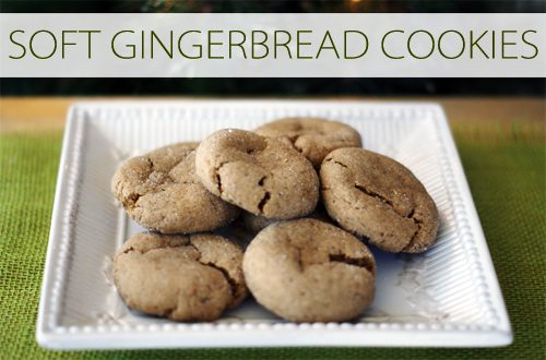 Soft Gingerbread Cookies {101 Days of Christmas at lifeyourway.net}