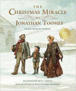 The Christmas Miracle of Jonathan Toomey Christmas Book Roundup at lifeyourway.net}