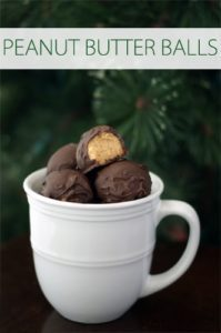 101 Days of Christmas: Peanut Butter Balls