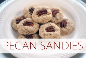 101 Days of Christmas: Pecan Sandies