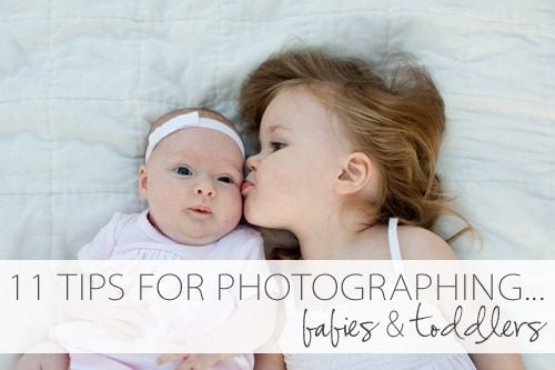 11 Tricks for Photographing Babies and Toddlers at lifeyourway.net